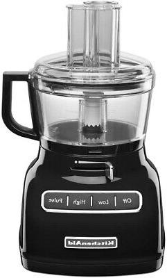 KitchenAid KFP0722OB 7Cup Food Processor with Exact Slice Sy