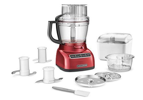Kitchenaid Kfp1333er 13 Cup Food Processor With Exactslice