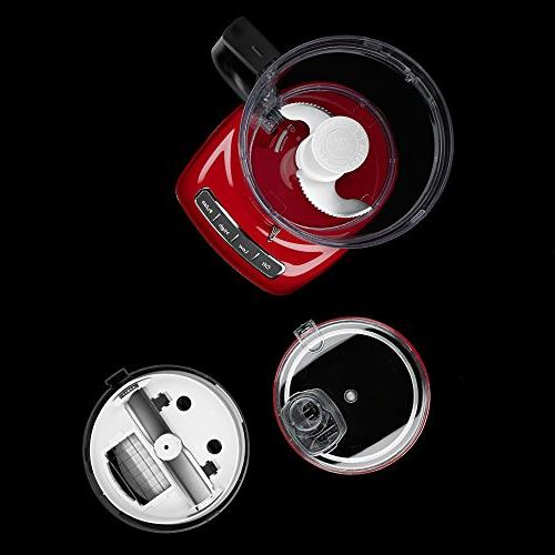 KitchenAid 14-Cup Processor Slice System and Dicing - Empire Red