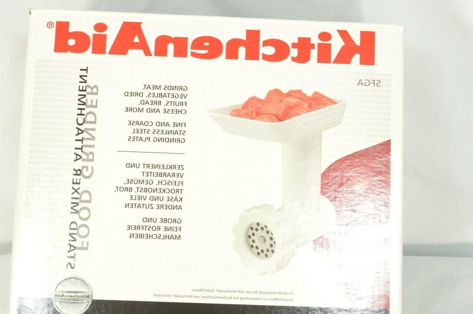 Kitchen Aid Processor - Grinder Stand Mixer Attachment extra