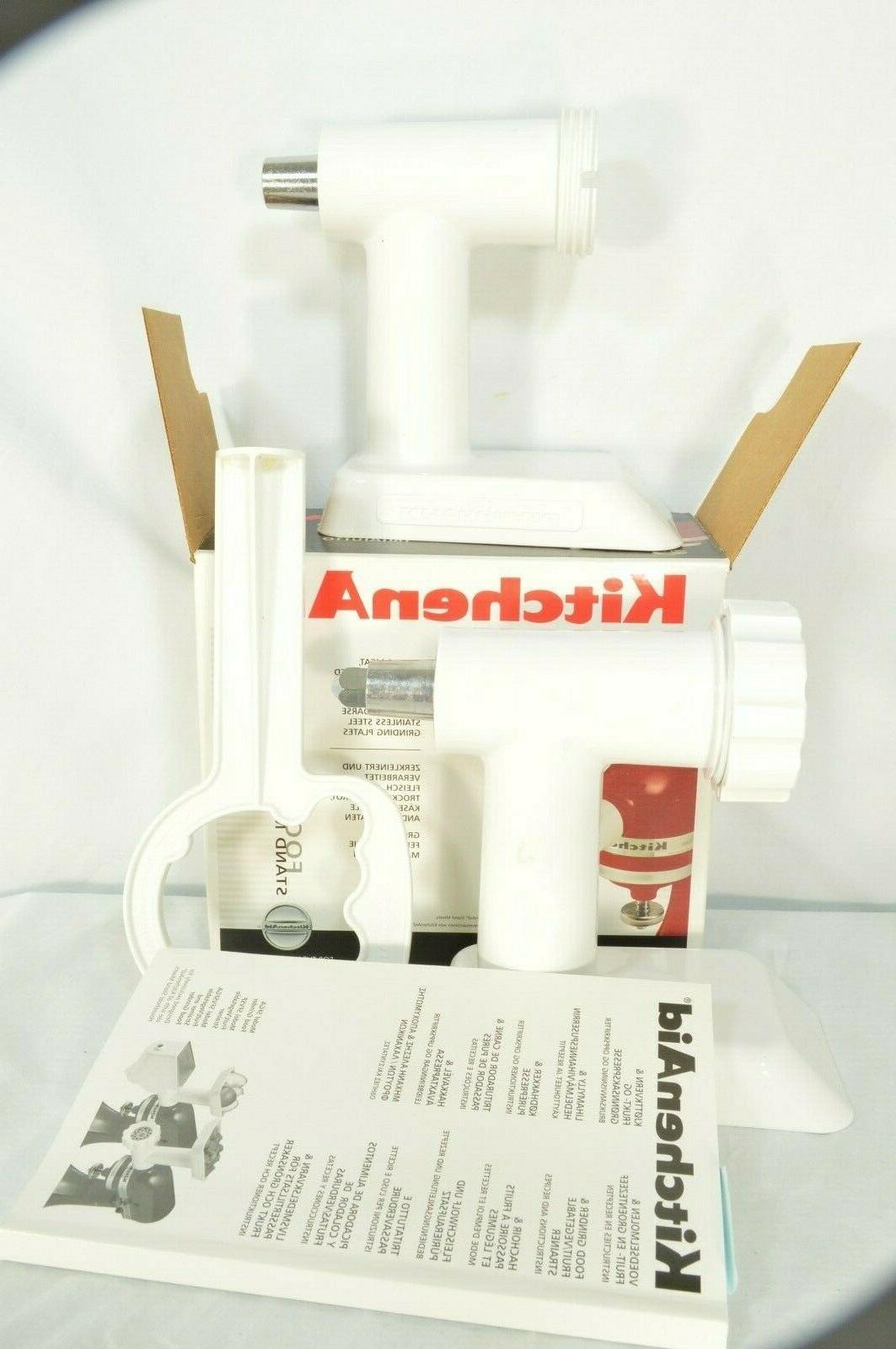 kitchen aid food processor food grinder stand