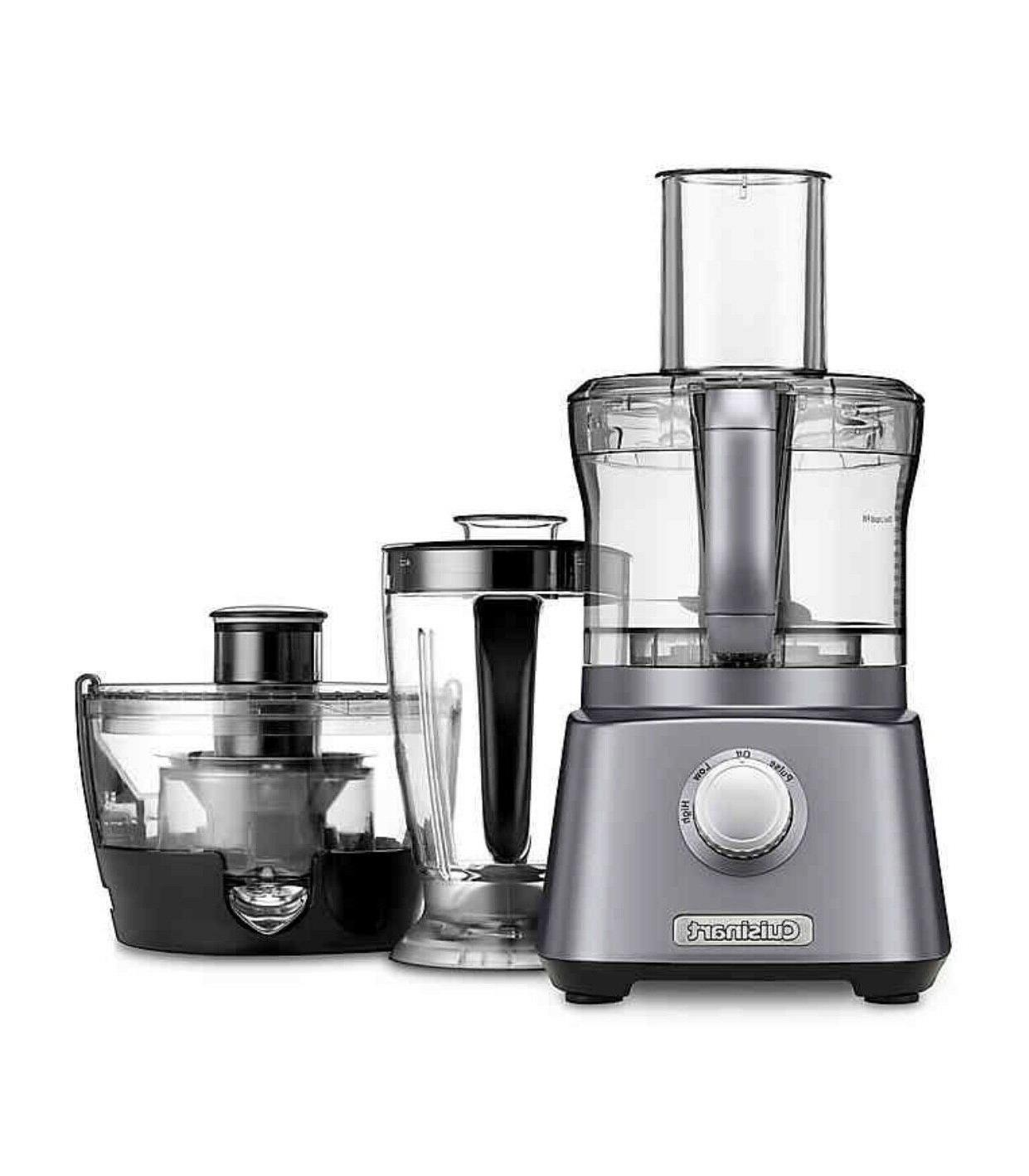 Cuisinart Kitchen Blender, and Processor in Gunmetal