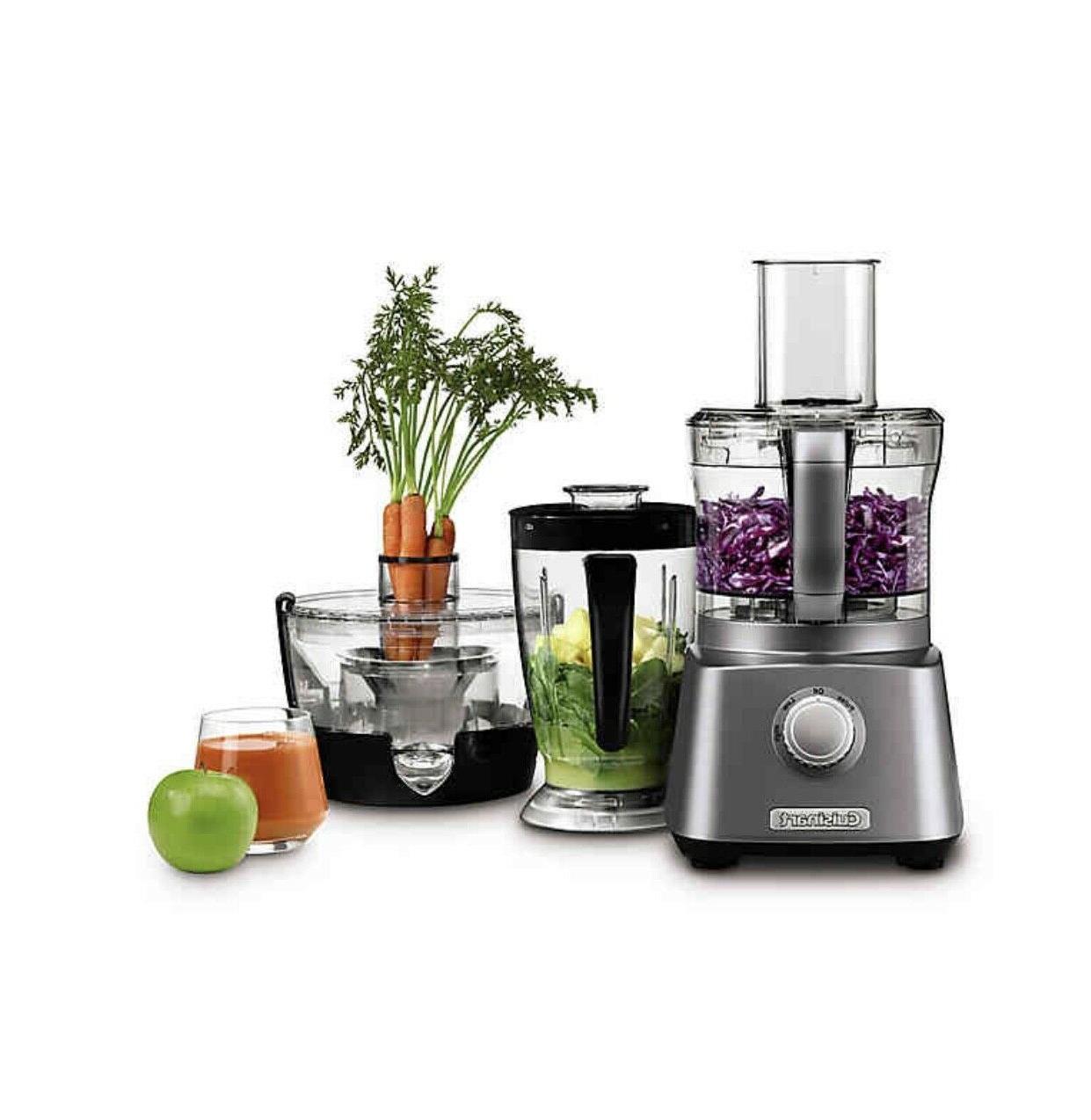 kitchen central with blender juicer and food