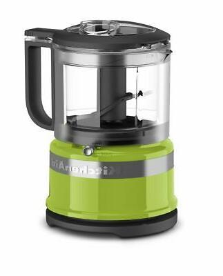 kitchenaid kfc3516ga cup mini food processor green apple