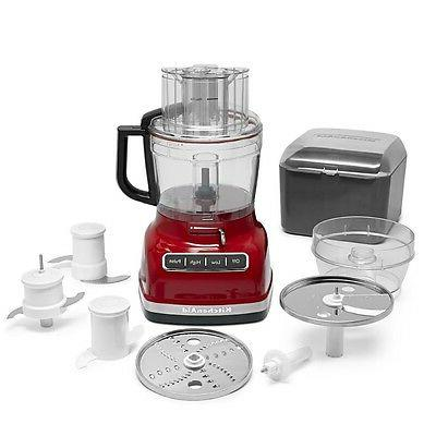 KitchenAid KFP1133ER 11-Cup Food Processor Exact Slice Syste