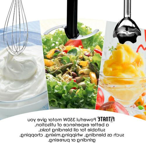 Fitnate 9 piece set Mixer & Food Processor Kitchen Set