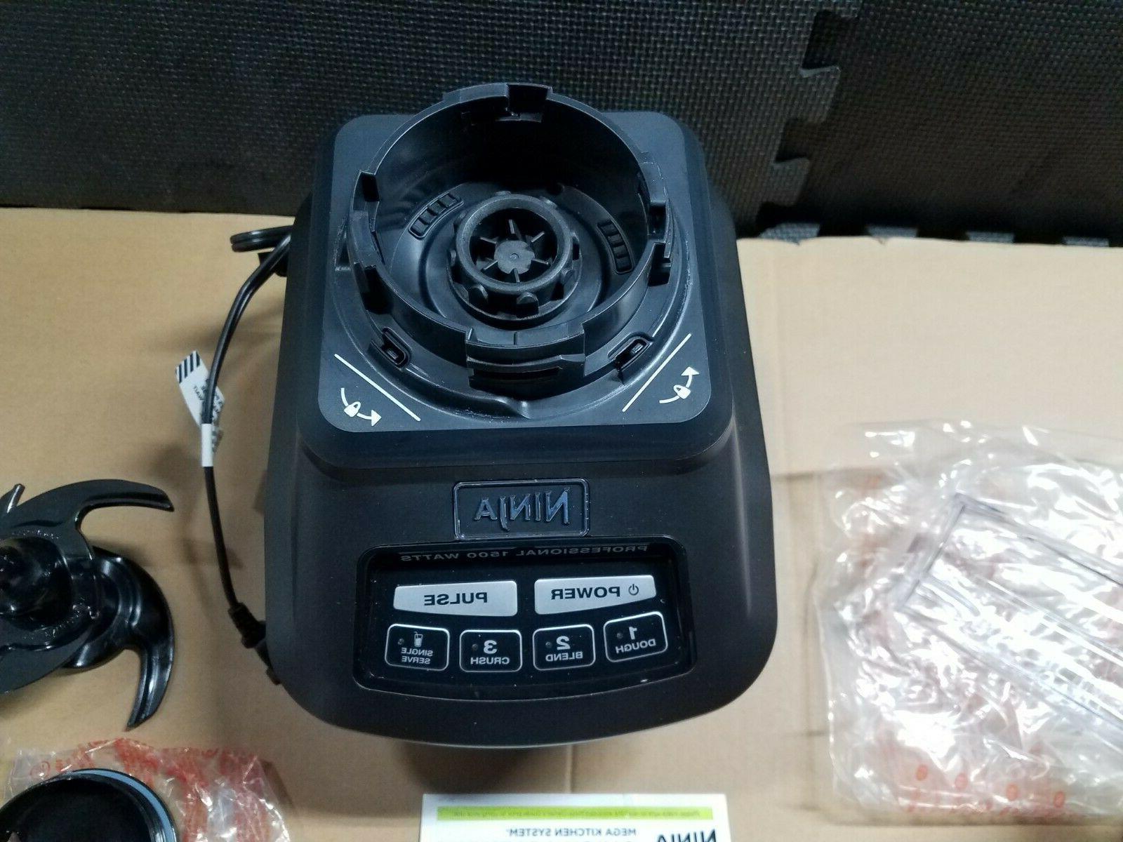 Ninja Mega Kitchen System Blender and Processor with