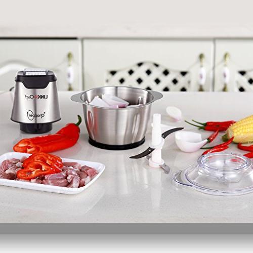 LINKChef Mini Food Processor 4 bi-level Food Capacity – Warranty