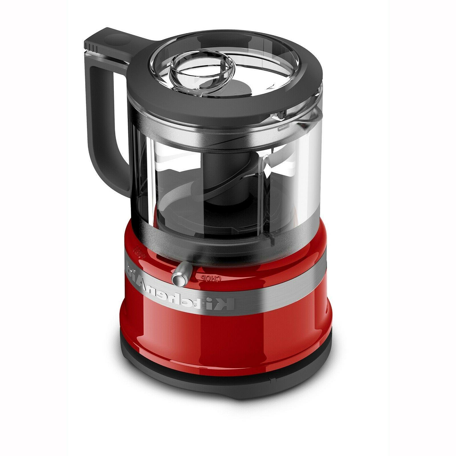 New KitchenAid 3.5 240 W Food Processor Chopper 2