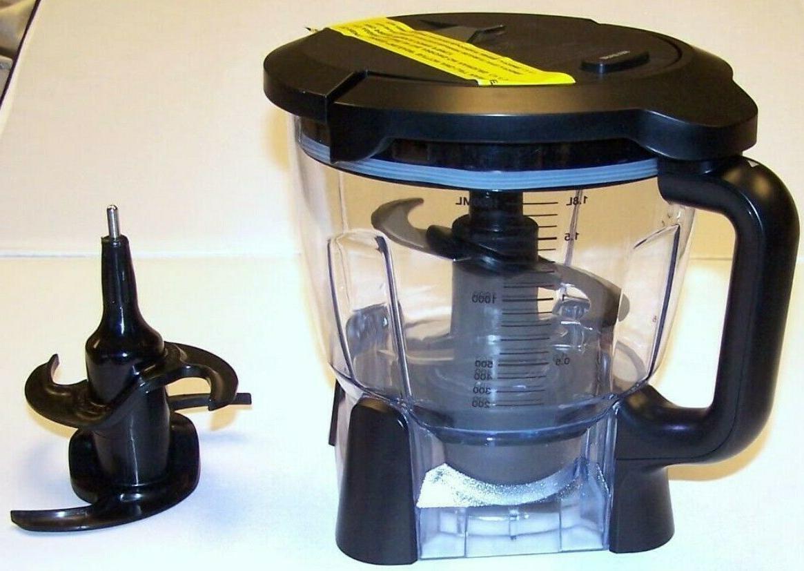 new 64 oz food processor bowl lid