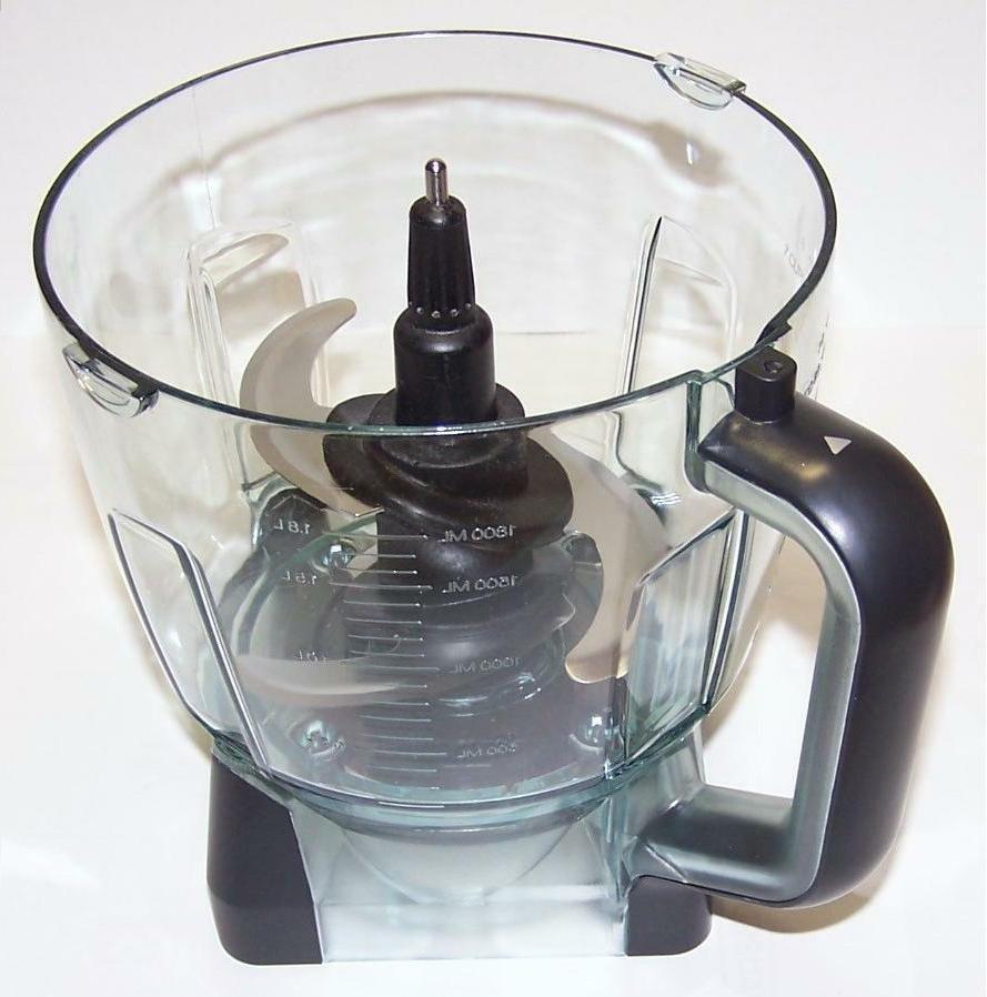 new 64oz 8 cup food processor bowl