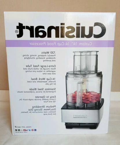 NEW Cuisinart DFP-14BCNY Food Stainless Steel