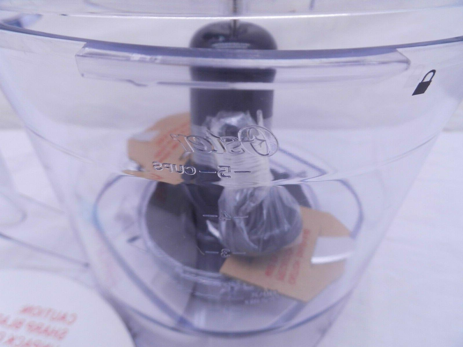 NEW Oster Food Processor 5 Cup for Pro Plus / Versa Blenders