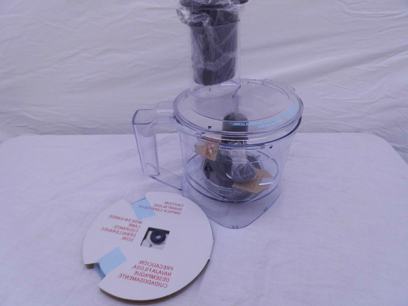 new food processor 5 cup attachment set