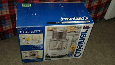 NEW IN BOX Cuisinart 11 Cup Food EV-11 Value Many Extras