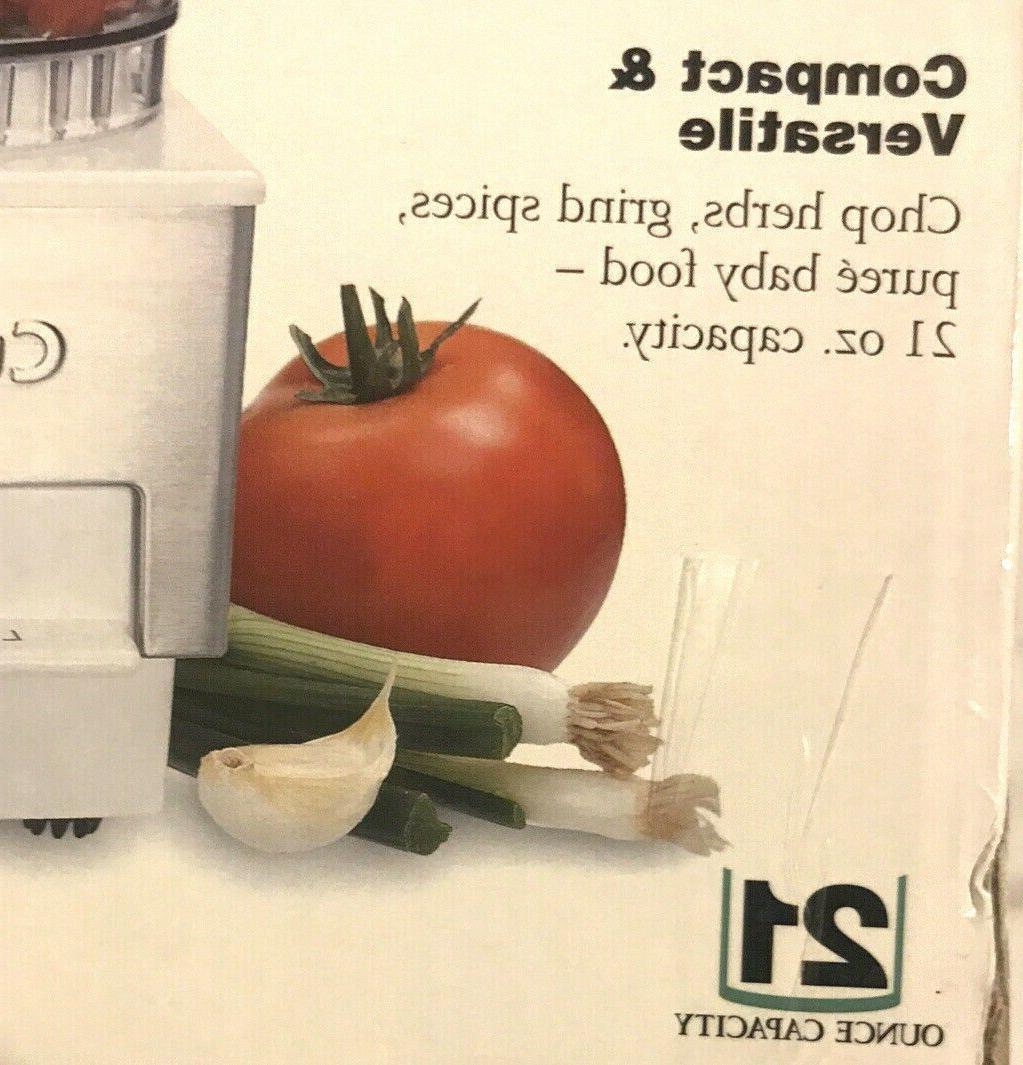New In - Cuisinart SSW Mini Food Steel