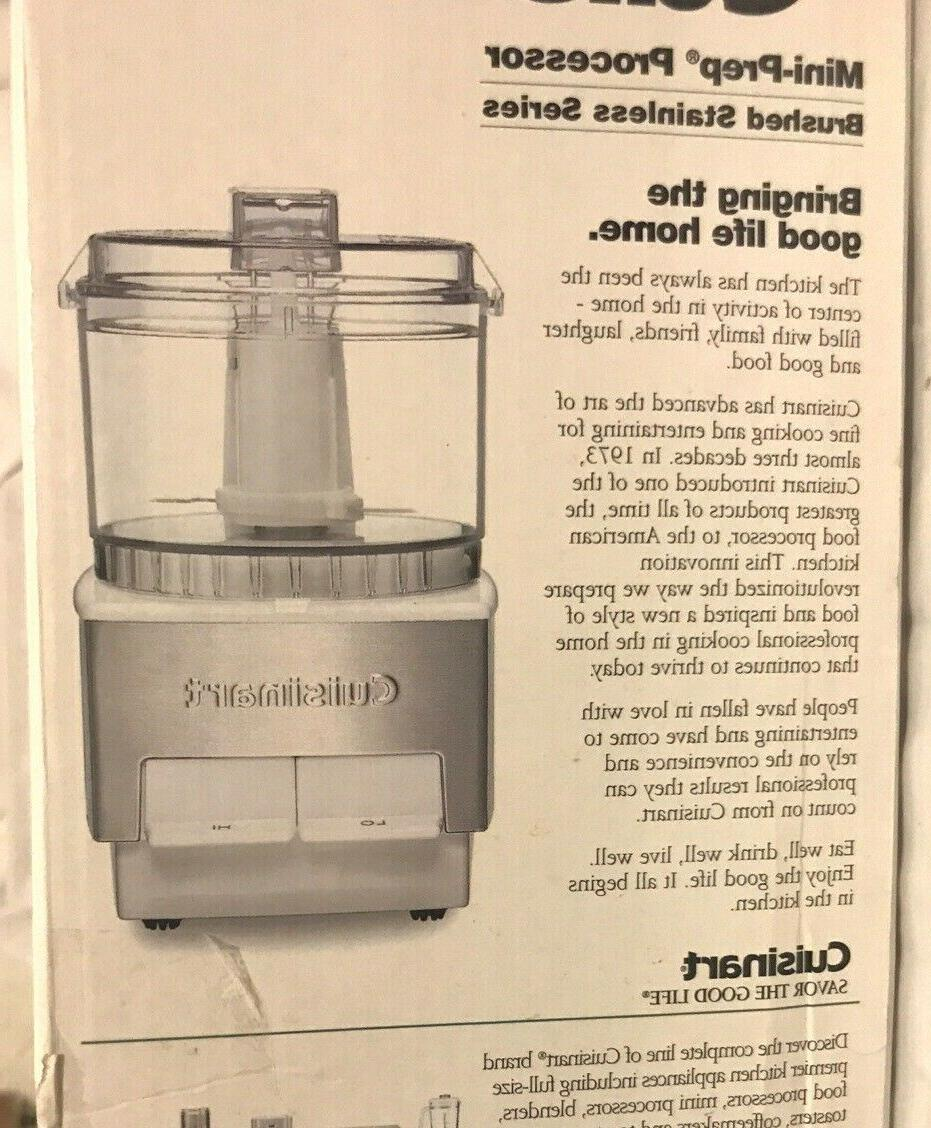 New In Cuisinart DLC-1 Food - Stainless Steel