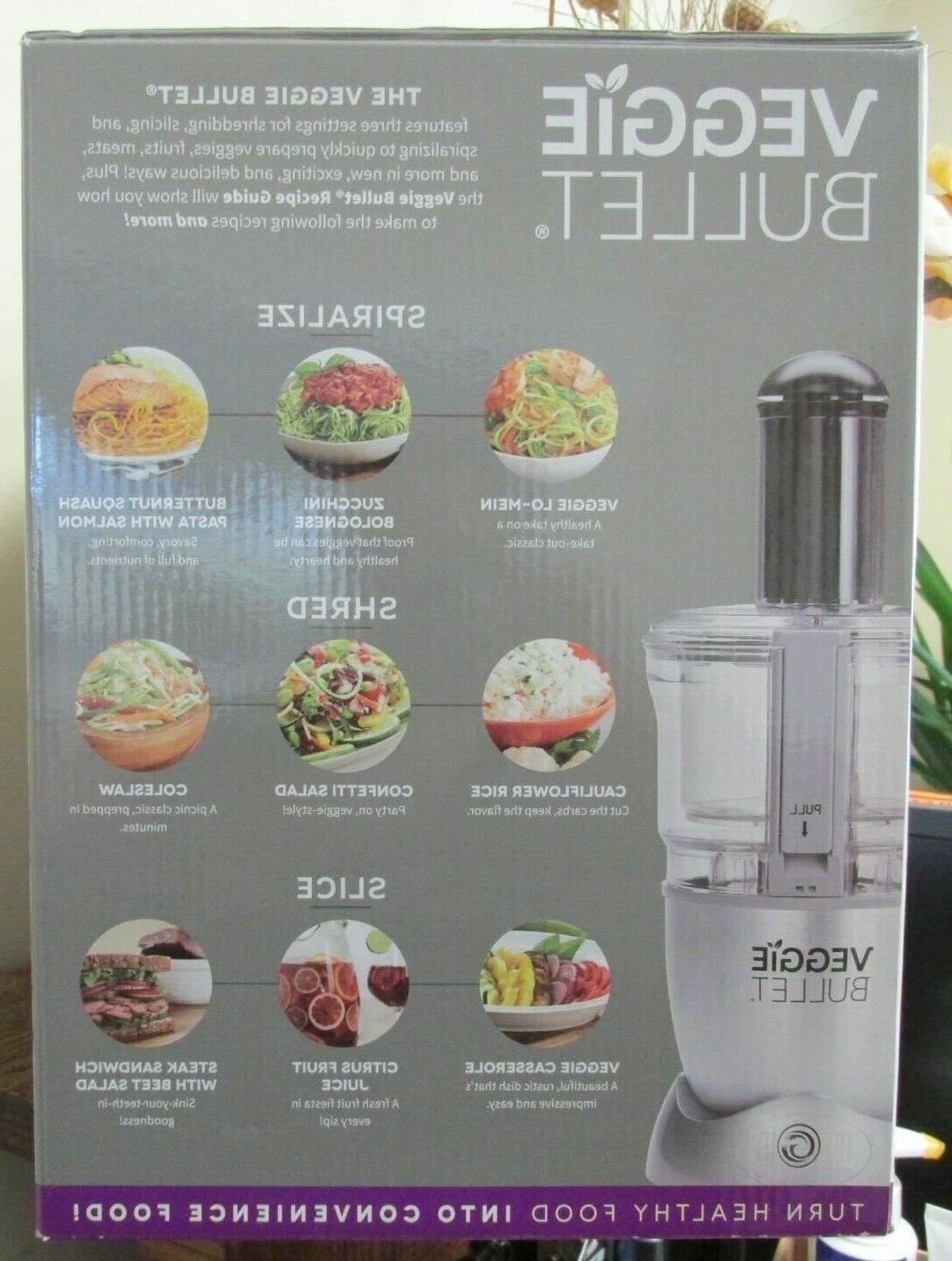 NEW!! VEGGIE Food Processor
