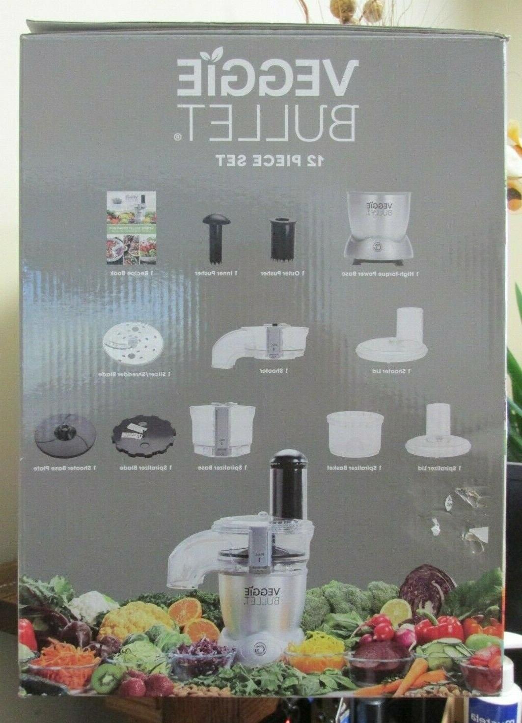 NEW!! VEGGIE BULLET Food Processor