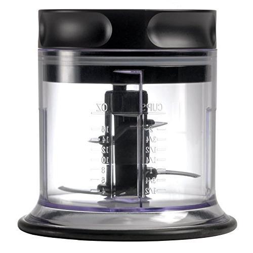 Ninja Blender/Food 450-Watt Base, 48oz 16oz Chopper 40oz Processor Shakes, Prep