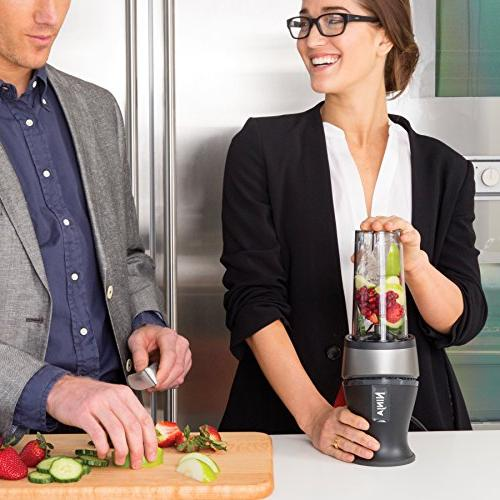 Ninja Personal Blender Shakes, Smoothies, and Frozen 700-Watt Cups with Lids