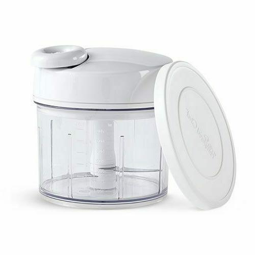 BRAND NEW Pampered Chef Manual Food Processor Food Chopper 2
