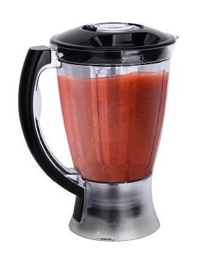 Ovente PF7007B Deluxe Cup Multi-Function Food with Blender, Citrus Juicer, Matte