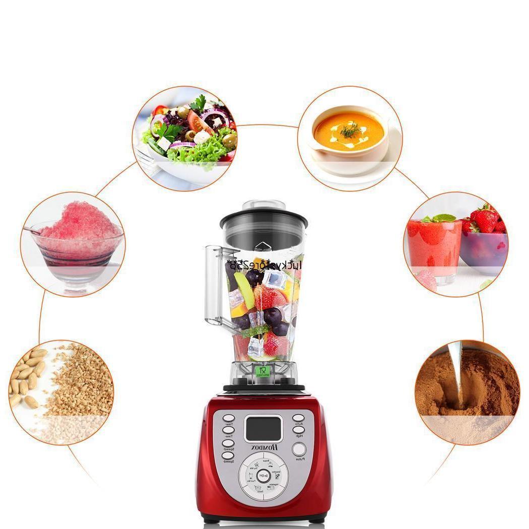 Portable Food Blender Processor Juicer Mixer 1800W For Kitch