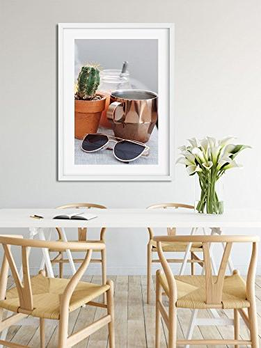 Westlake Wall Cactus Flowerpot - Modern Picture Photography Birthday Gift - - 24x36in