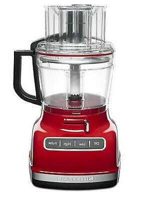 KitchenAid Refurbished 11-Cup Food Processor with ExactSlice