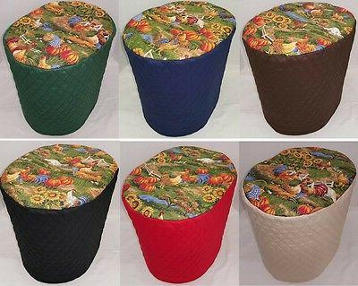 rooster food processor cover 2 sizes available