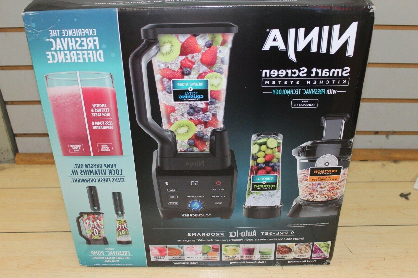 shark smart screen blender food processor freshvac
