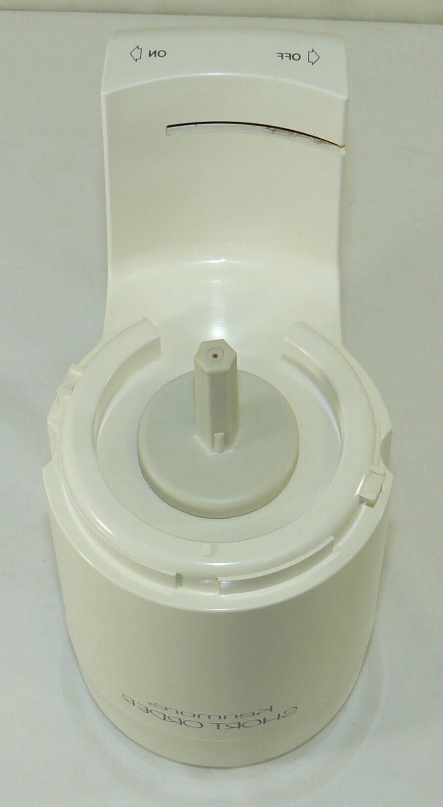 Kenmore Short Food Processor Model 400.69670 White Motor