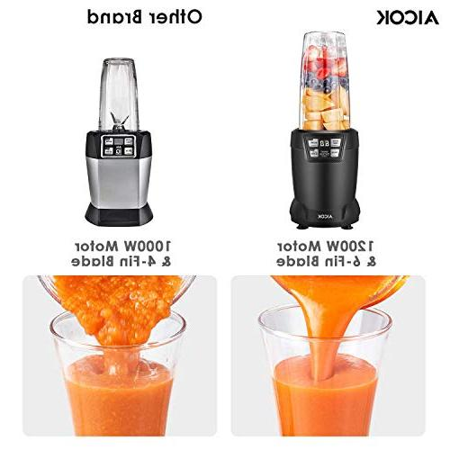 Smoothie Professional Blender Smart Touch, Blade for Smoothies 28oz Tritan Black