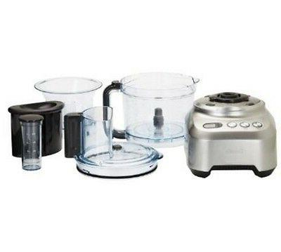 Breville Wide Silver 16 Cups Food New