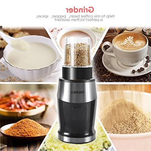 Smoothie Blender, Fochea In Food Multi-Function Kitchen System, 570ml bottle, Easy to Clean