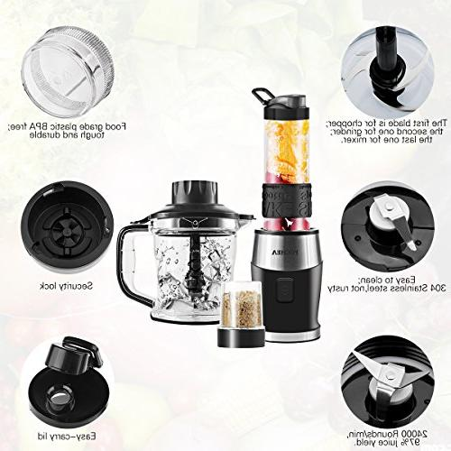 In Multi-Function Kitchen System, High Speed 570ml to