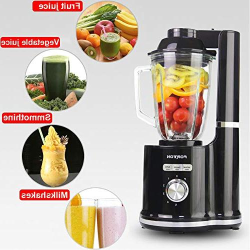 High Speed Vacuum Processor Mixer Ice Crusher BPA One-Click Self Cleaning