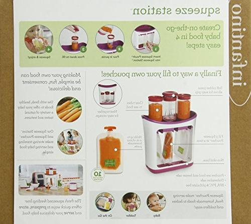 Infantino Squeeze Baby Food Maker