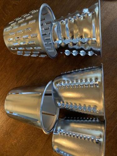 Stainless Steel KING KUTTER Vegetable Food Processor 5