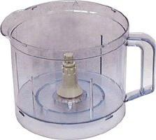 Braun 3210-652 Universal Food Processor Work Bowl, Clear