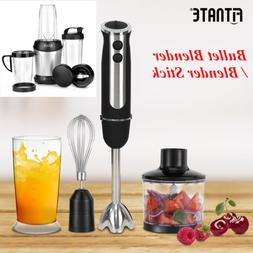 Fitnate Magic Bullet Blender, 9 piece set Mixer & Food Proce