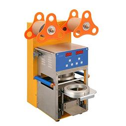 fully automatic bubble tea plastic cup sealing machine for b
