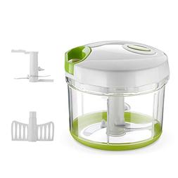 Manual Food Chopper, 4 Cup Handheld Food Processor Food Blen