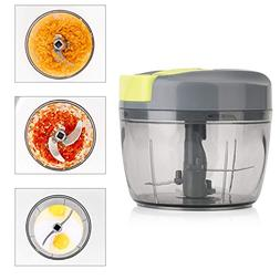 Magiclux Tech Manual Food Chopper, Vegetable Processor Handh
