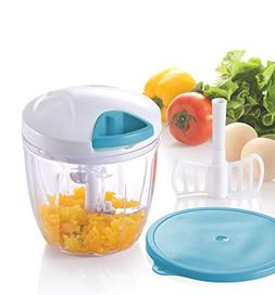 Manual Food Chopper Processor Compact & Hand Held Vegetable