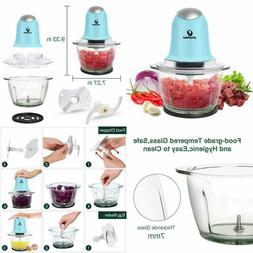 POSAME Meat Grinders Electric Food Processor,Mini Kitchen Ch