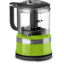 Mini 3.5-Cup 2-Speed Green Apple Food Processor with Pulse C