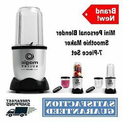 Magic Bullet Mini Blender smoothie Maker 200 Watt w/ Cross B