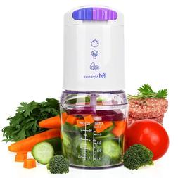 Mini Food Chopper Processor BPA Free Bowl Perfect to Meal Pr